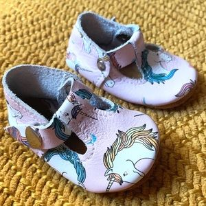 🌸🌵🌼Infant Unicorn Moccasins | Genuine Leather 1